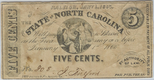 NC 5 cents